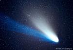 Hale-Bopp is often very bright in the night sky when it appears