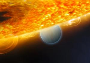 Gas planets composed mainly of carbon dioxide!