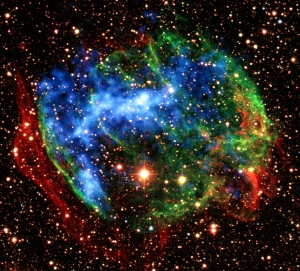 Supernovae occur very infrequently