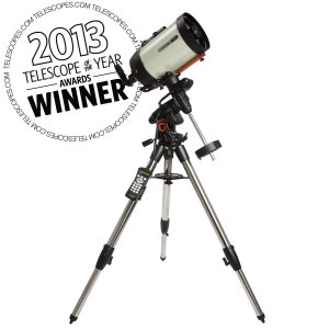 Celestron's Advanced VX 8 inch EdgeHD telescope can give you great views of Comet ISON