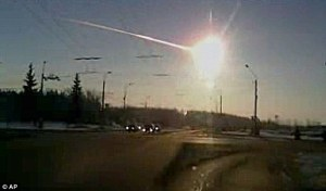 NASA astronomers have coined the term superbolide for the brilliant fireball that resulted from the meteorite through the atmosphere