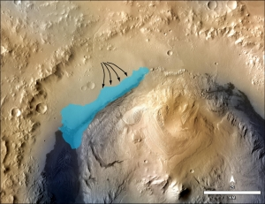NASA astronomers believe Curiosity has found an ancient lake that once existed on Mars