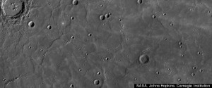 Mercury's surface shows features that have geophysicists thinking tectonic processes were recently shaping the surface of the planet