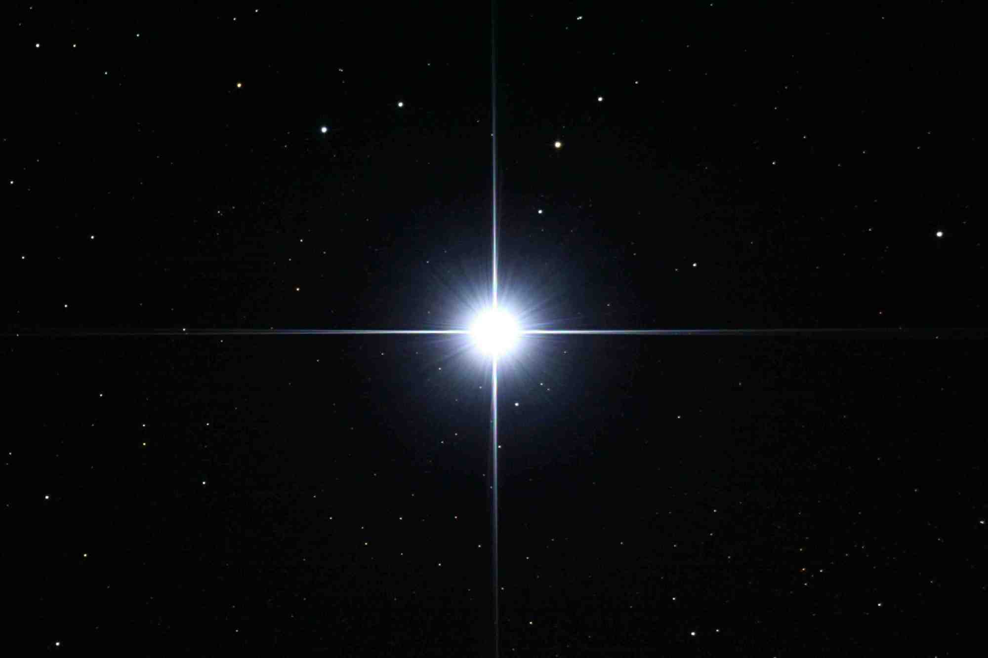 Sirius-1 is the main star in the star group Canis Majoris and the brightest in the night sky