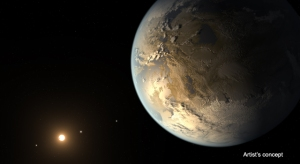 This artists conception of Kepler-186f is elegant, but still imagination at work