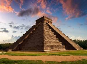 The Maya had an advanced understanding of astronomy. This building is an example of their knowledge. For example, there are exactly 365 steps to the top of the pyramid, one step for every day of the year. And every year on both the spring and the autumn equinox the sun hits the structure in such a manner to create the illusion of a shadow in the shape of a serpent which winds down the stairs in a journey toward the sacred Cenote.