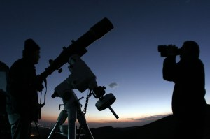 Observing the night sky using a modern telescope takes you to the forefront of the human journey to the beginning of space and time.