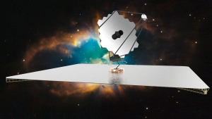 Artists conception of possible successor to the Hubble Space Telescope