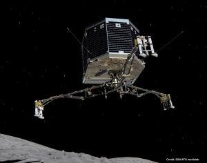 Philae will release from Rosetta on Nov. 12 and hopefully make a soft landing on comet  67P/Churyumov–Gerasimenko