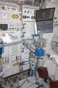 The SLAMMD is visible here during Expedition 19