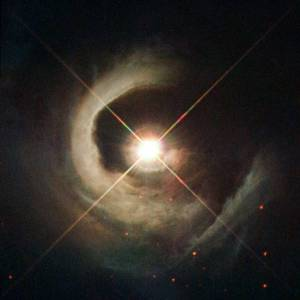 Hubble Sees a Young Star Take Center Stage European Space Agency ESA/Hubble, NASA Karl Stapelfeldt (GSFC), B. Stecklum and A. Choudhary (Thüringer Landessternwarte Tautenburg, Germany)