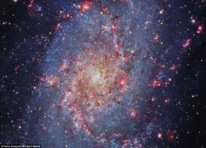 These photographs may look like incredible shots taken from telescopes in space, but they were in fact captured by amateur astronomer in his back garden. Located millions of light years away from Earth, the star-studded patterns fill the night sky with array of colours, from purples and pinks to blues and oranges. Photographer Terry Hancock captured the images using a specialist astronomy camera attached to a telescope, from the comfort of his home in Fremont, Michigan. Read more: http://www.dailymail.co.uk/sciencetech/article-2847259/Move-Hubble-Amateur-astronomer-takes-stunning-photos-colourful-galaxies-garden-Michigan.html#ixzz3do8JaPxc  Follow us: @MailOnline on Twitter | DailyMail on Facebook