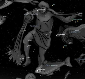 As is the case with all of the Zodiac constellations, Aquarius was recorded in the second century by the Greek astronomer Ptolemy. Its name means