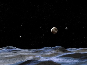 If the icy surface of Pluto's giant moon Charon is cracked, analysis of the fractures could reveal if its interior was warm, perhaps warm enough to have maintained a subterranean ocean of liquid water, according to a new NASA-funded study.