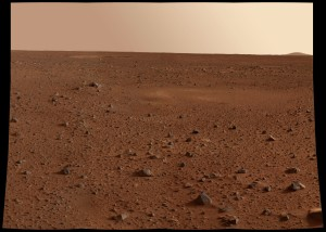 Mars is one of the newest location humans plan on visiting and possibly inhabiting in the near future. This spot looks promising, but getting the work crew to this spot is a killer. Realtors of the future will have to work on this one a bit. Image credit: NASA