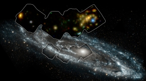 NASA's Nuclear Spectroscope Telescope Array, or NuSTAR, has imaged a swath of the Andromeda galaxy -- the nearest large galaxy to our own Milky Way galaxy.