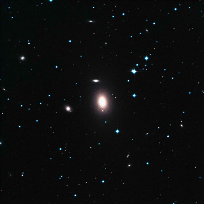 Ground-based view of NGC 1600