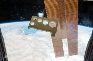 The Mulitpurpose Precision Maintenance Tool, created by University of Alabama in Huntsville student Robert Hillan as part of the Future Engineers Space Tool Challenge, was printed on the International Space Station. It is designed to provide astronauts with a single tool that can help with a variety of tasks, including tightening nuts or bolts of different sizes and stripping wires. Credits: NASA