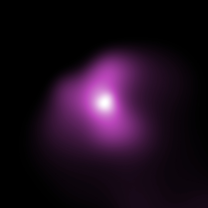 Astronomers used Chandra to observe Comet ISON and Comet PanSTARRS in 2013, when these comets were relatively close to the Earth. The graphic shows the comets in optical images taken by an astrophotographer, with insets showing the X-ray images from Chandra. The X-ray emission is produced when a wind of particles from the Sun - the solar wind - strikes the comet's atmosphere. The Chandra data was used to estimate the composition of the solar wind, including the amount of carbon and nitrogen, finding values that agree with independent measurements.