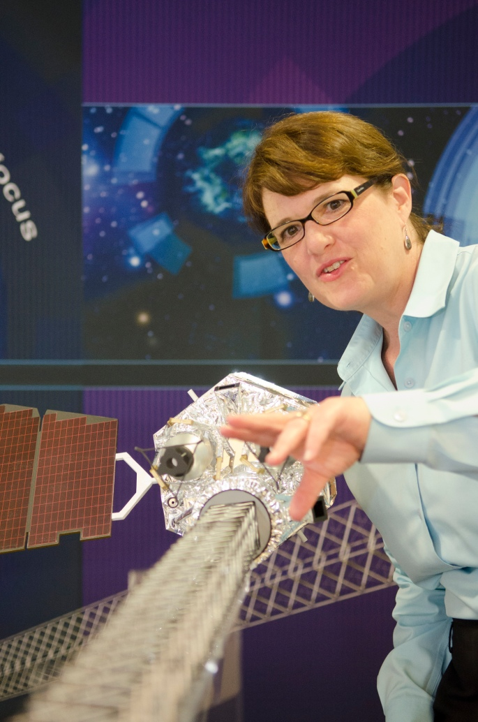 Fiona Harrison, the principal investigator of NuSTAR, has been awarded the top prize in high-energy astrophysics. Image credit: Lance Hayashida/Caltech Marcomm