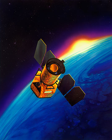 The Galaxy Evolution Explorer Credits: NASA/JPL/Cal-tech