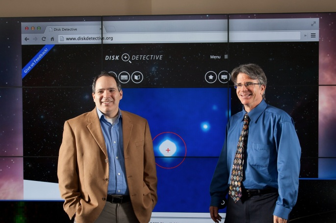 DiskDetective with P.I. Marc Kuchner, and James Garvin, Goddard Chief Scientist, NASA/GSFC