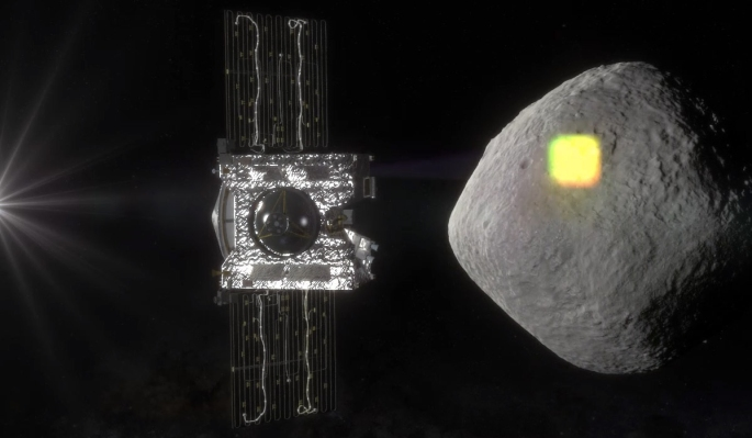 NASA's OSIRIS-REx mission will map the surface of asteroid Bennu and retrieve a sample of surface material for planetary scientists at NASA's Jet Propulsion Laboratory to examine in depth. Credits: NASA