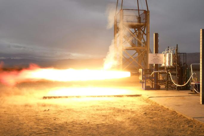 NASA's Marshall Space Flight Center (MSFC) additive manufactured injector by was successfully hot fire tested by Vector Space System on Dec. 8, 2016 using Liquid Oxygen/Propylene propellant (LOX/LC3H6). This work was performed under a 2015 STMD ACO Space Act Agreement. Credits: Vector Space System