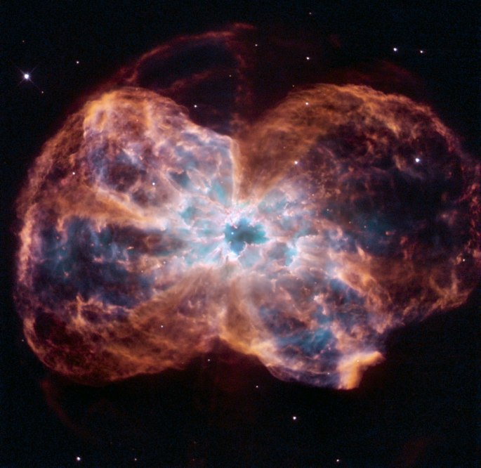 This image of NGC 2440 shows the colourful