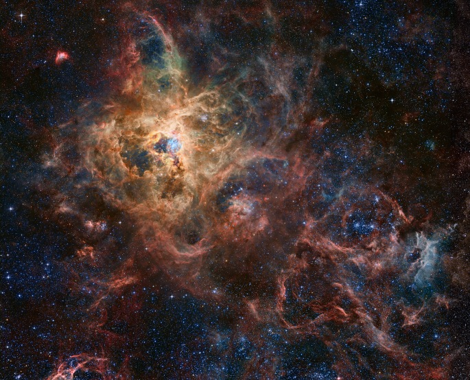 Image Credit & Copyright: Processing - Robert Gendler, Roberto Colombari Data - Hubble Tarantula Treasury, European Southern Observatory